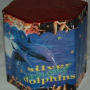 Silver Swimming Dolphins 19 shots 240 gr